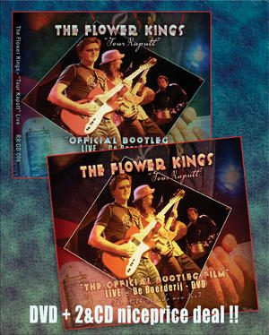 Package deal DVD and 2 CD Audio The Flower Kings